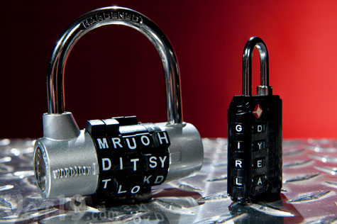 WordLock Word Combination Locks