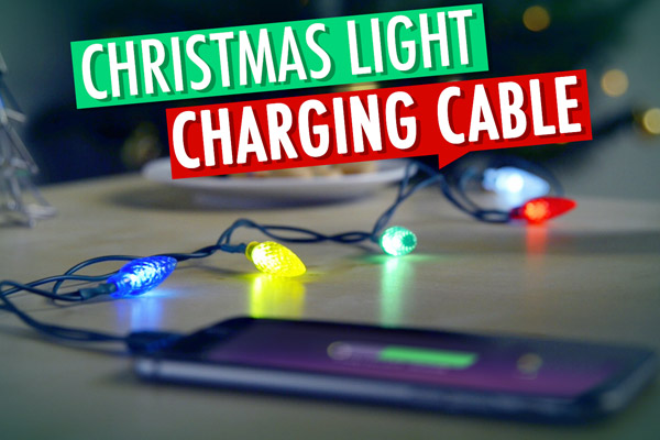 Christmas Light Charging Cable