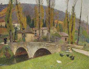 Painting Henri Martin