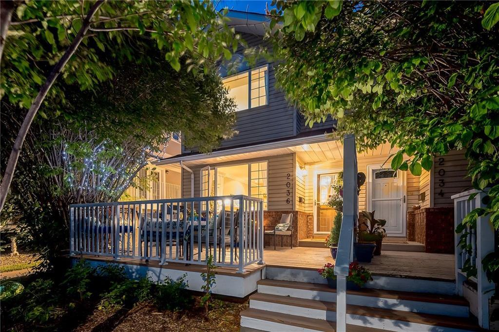 West Hillhurst Row/Townhouse for sale:  3 bedroom 1,400 sq.ft. (Listed 2020-09-23)