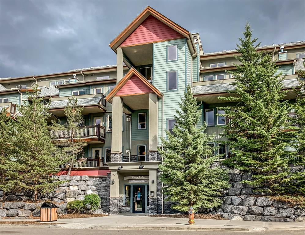 Bow Valley Trail Apartment for sale:  2 bedroom 661 sq.ft. (Listed 2020-09-24)