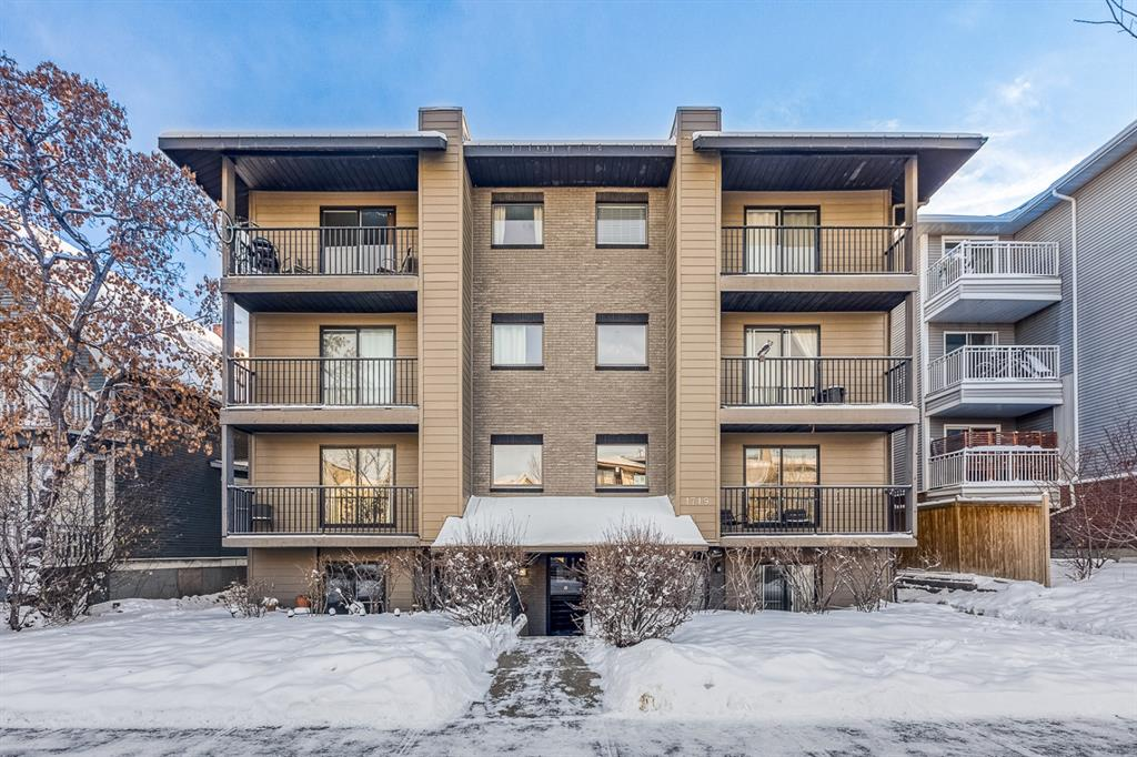 Sunalta Apartment for sale:  1 bedroom 554 sq.ft. (Listed 2021-02-10)