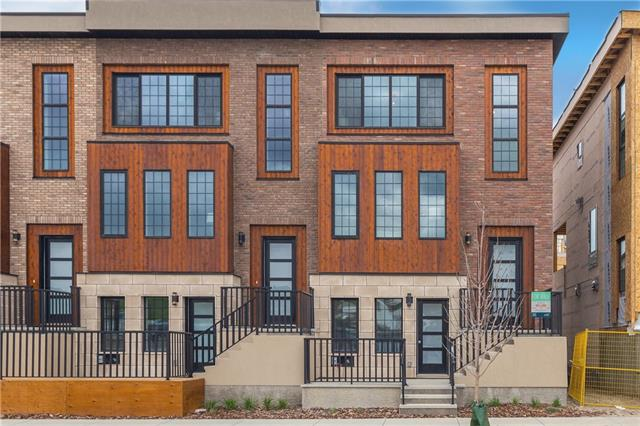 Greenwood/Greenbriar Row House for sale:  3 bedroom 1,581 sq.ft. (Listed 2020-05-28)