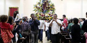 Procissão e Missa do Padroeiro de Engenheiro Coelho reúnem 350 fiéis