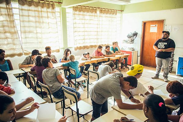 Bate papo sobre Bullying - Escola Almerinda Rodrigues de Mogi Guaçu