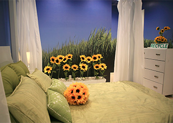 Sunflower bedroom