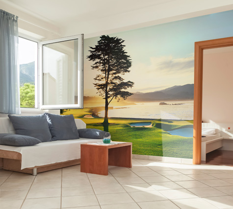 Pebble Beach Mural