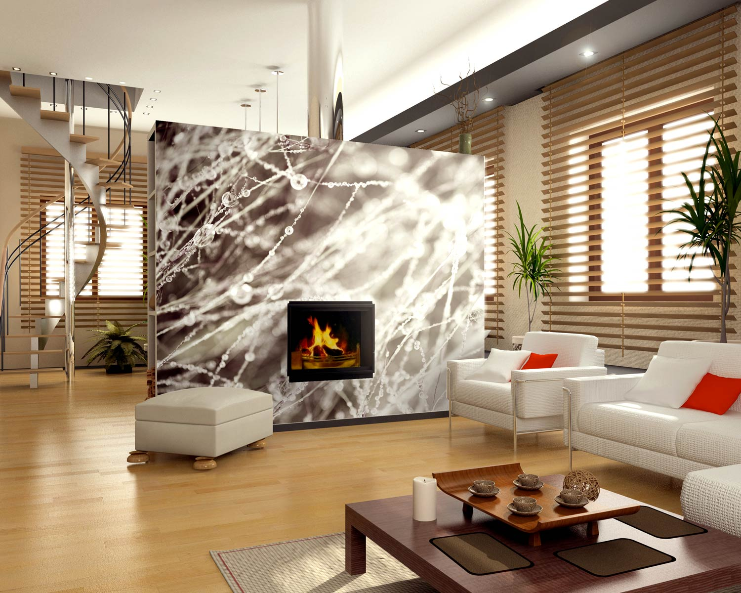 mural accent wall
