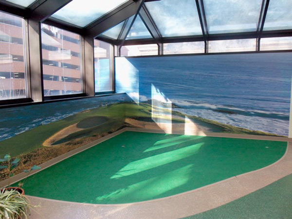 golf room wrap