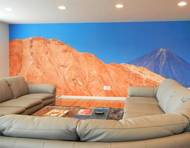 Custom Scenic Wallpaper