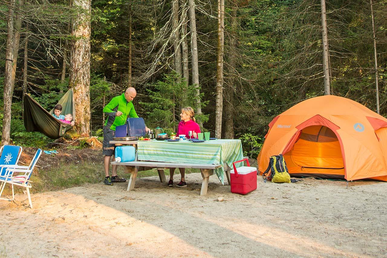 Camping campez dans la plus belle nature du qu bec s paq - Camping les jardins de l atlantique ...