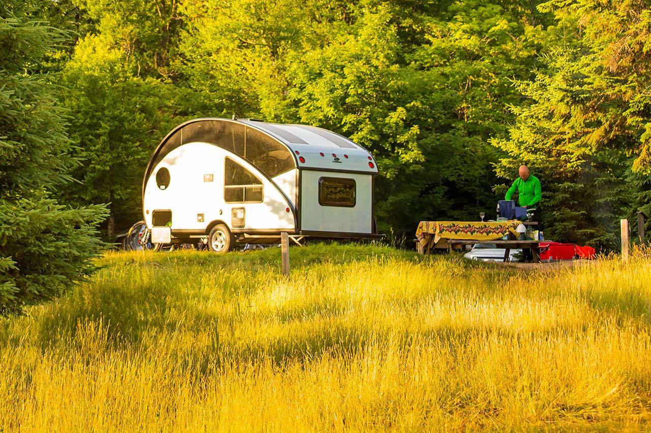 Location mobil home et bungalow en camping :