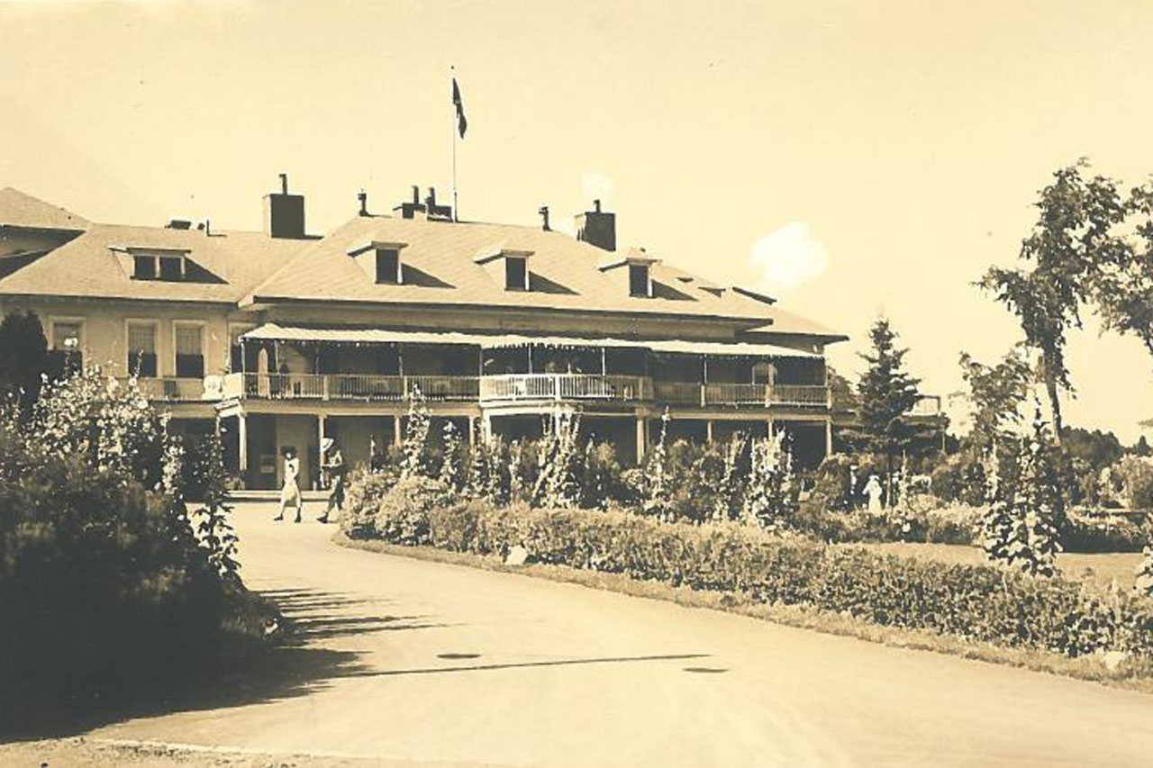 Park and Manor History - Parc de la Chute-Montmorency - Sepaq