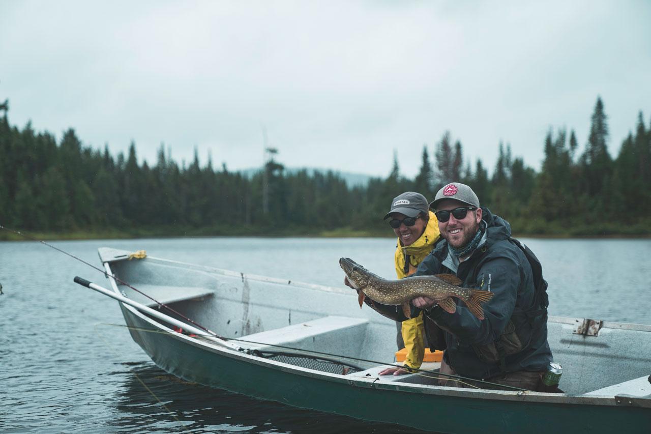 pêche truite kamouraska
