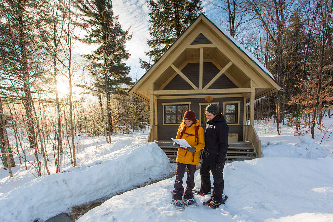 Astonishing Cabins For Rent During Winter In Quebec Outdoors Sepaq Interior Design Ideas Clesiryabchikinfo