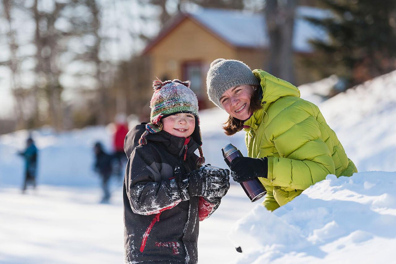 Patinage ext rieur activit s d 39 hiver au qu bec s paq for Patinage exterieur