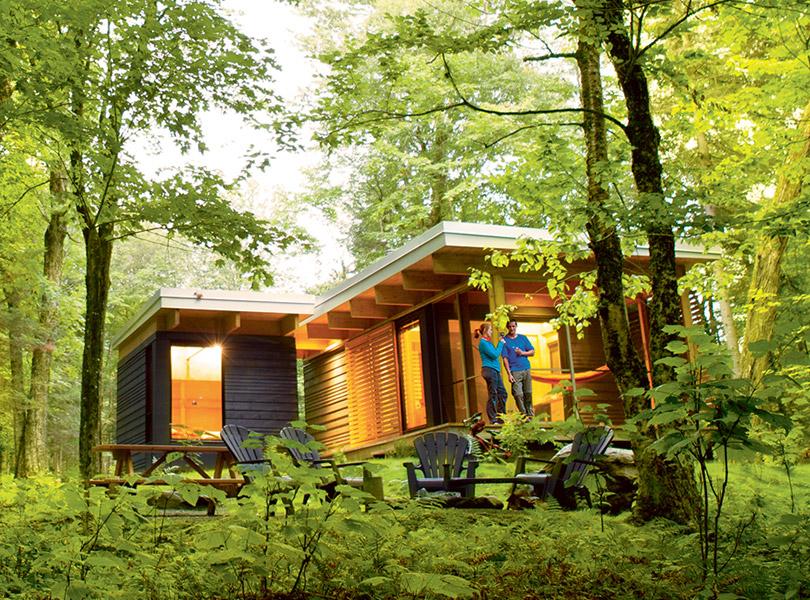 location de chalets en nature au qu bec s paq. Black Bedroom Furniture Sets. Home Design Ideas