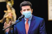Diego Molano, ministro de Defensa. / AFP / RAUL ARBOLEDA