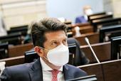 Esta semana, Diego Molano atendió en el Senado y la Cámara dos mociones de censura convocados por la oposición. /Cortesía / Cortesía