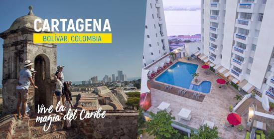 Cartagena, magia del Caribe