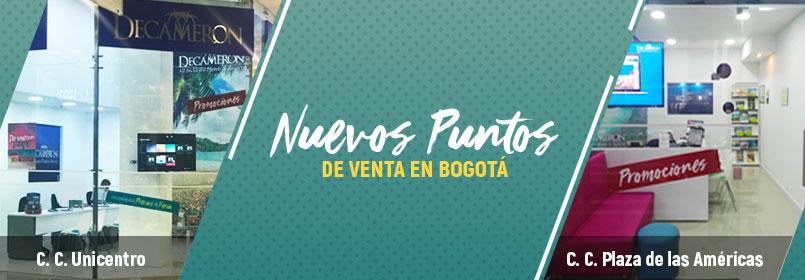 Nuevos puntos de venta Bogotá