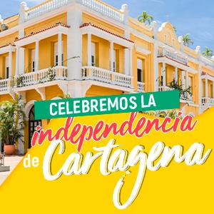 Celebremos la independencia de Cartagena