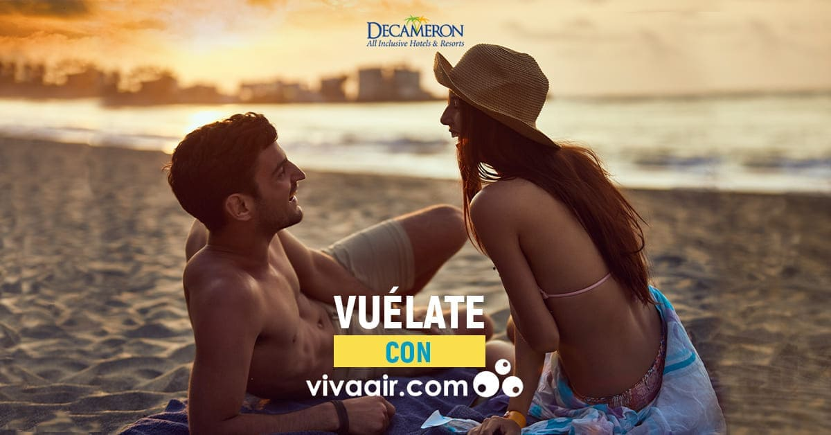 Vúelate con vivaair.com