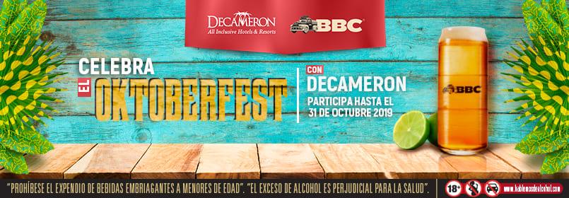 ¡Celebra este mes el Octubeerfest en nuestros destinos!
