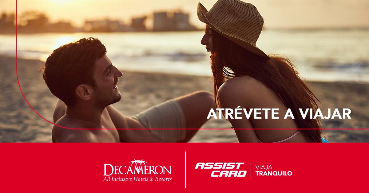Viaja sin miedo en Octubre con Decameron Hasta 15%off