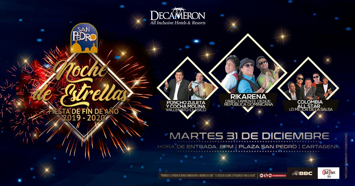 San Pedro noche de estrellas - Fiesta de fin de año 2019 - 2020