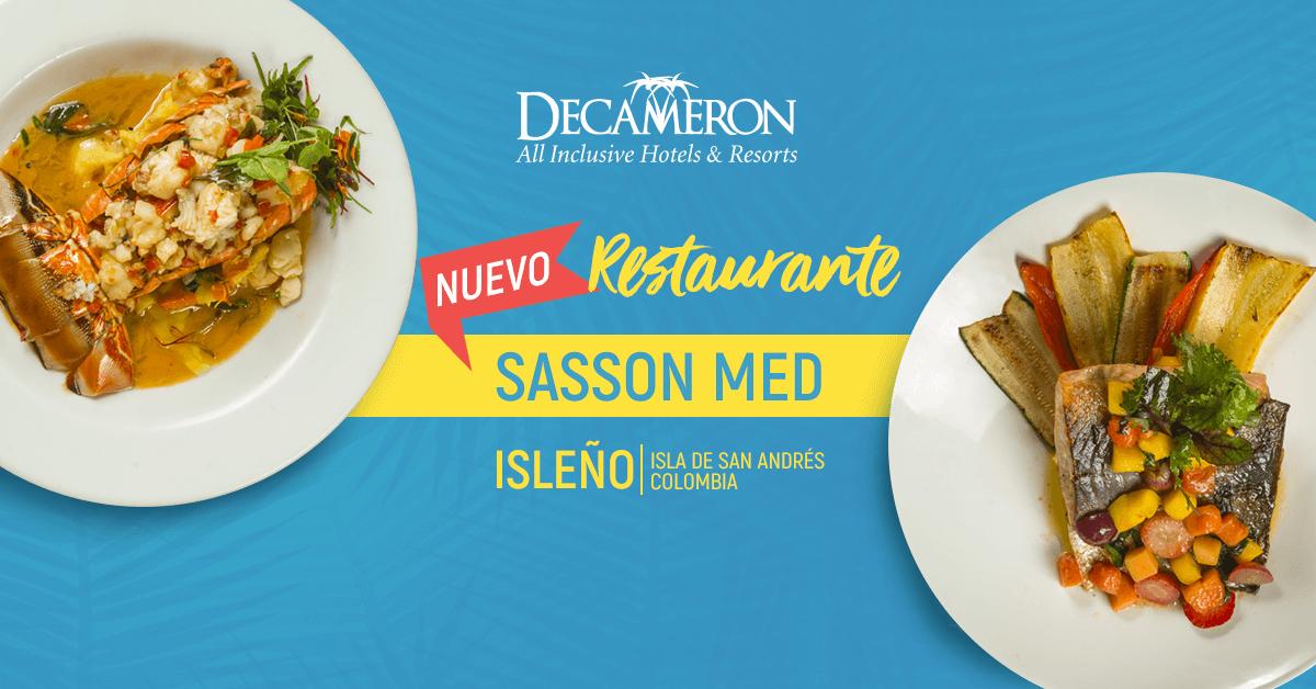 Nuevo restaurante Sasson Med