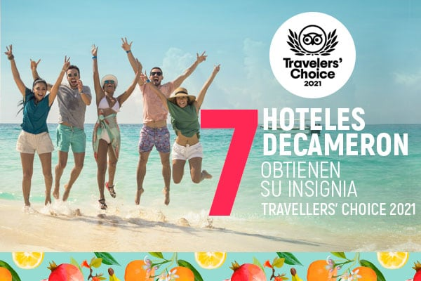 Hoteles Decameron es premiado por Trip Advisor