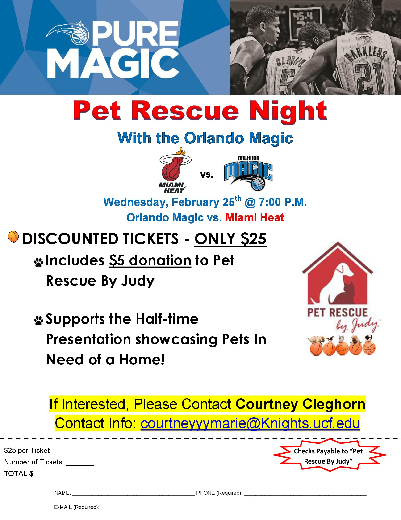 Magic Ticket Flyer