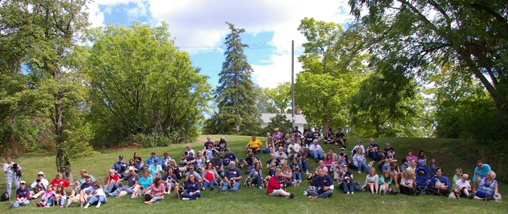 2012 picnic group picture