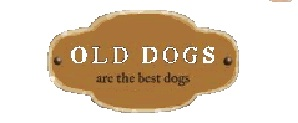 old dogs make the best dogs logo