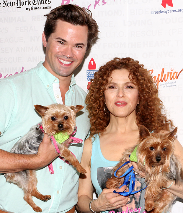 Bernadette Peters and Dazey and Levi