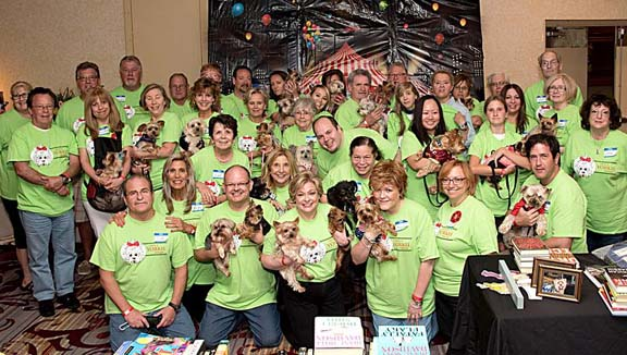 Members of SAY Rescue Yorkie Day 2015