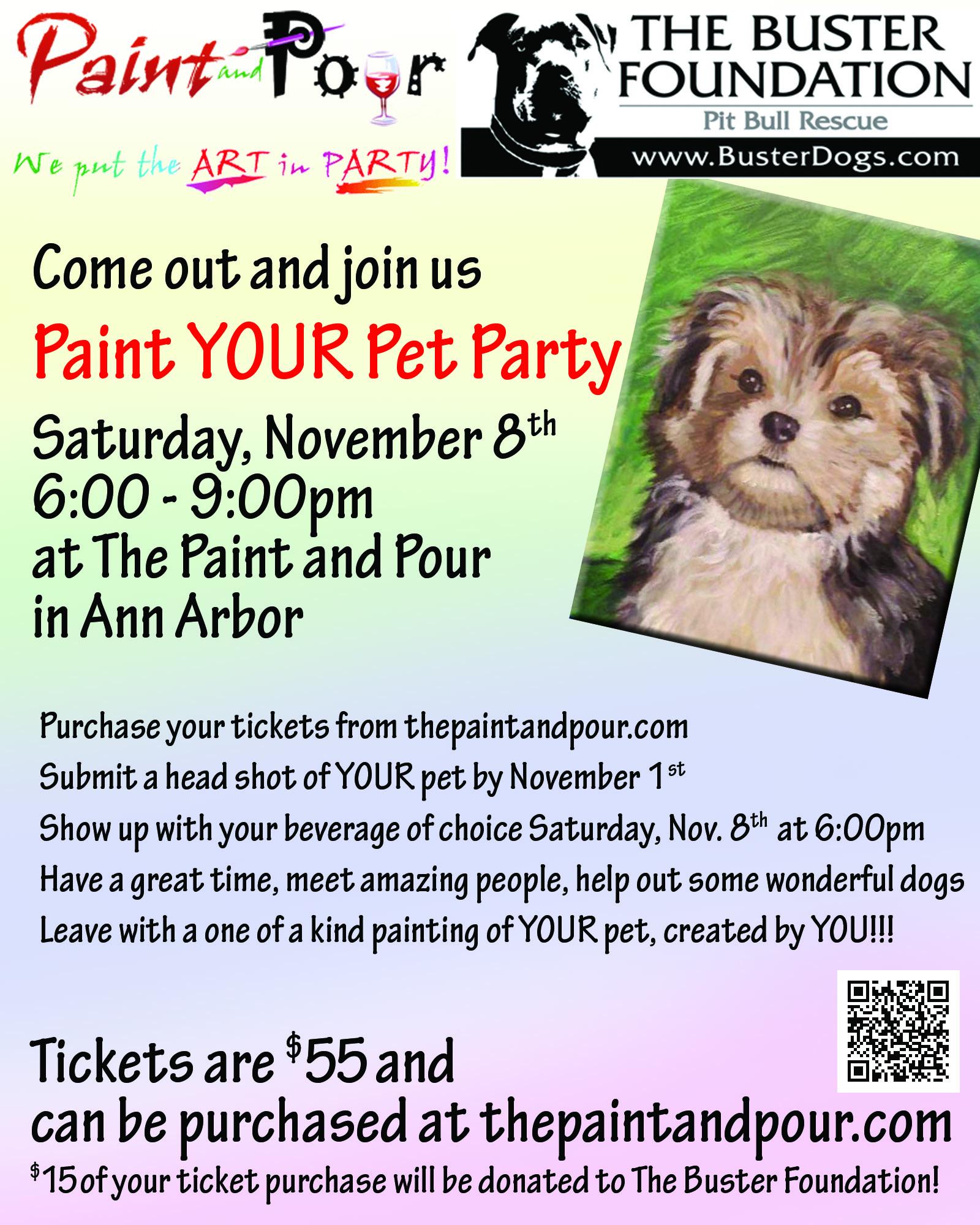 Paint your Pet Nov 8