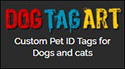 dog tag art banner