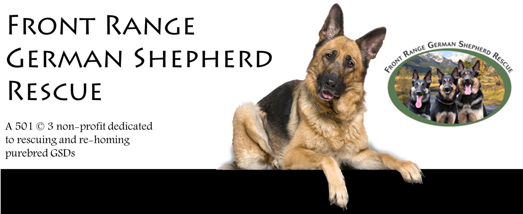 Front Range German Shepherd Rescue