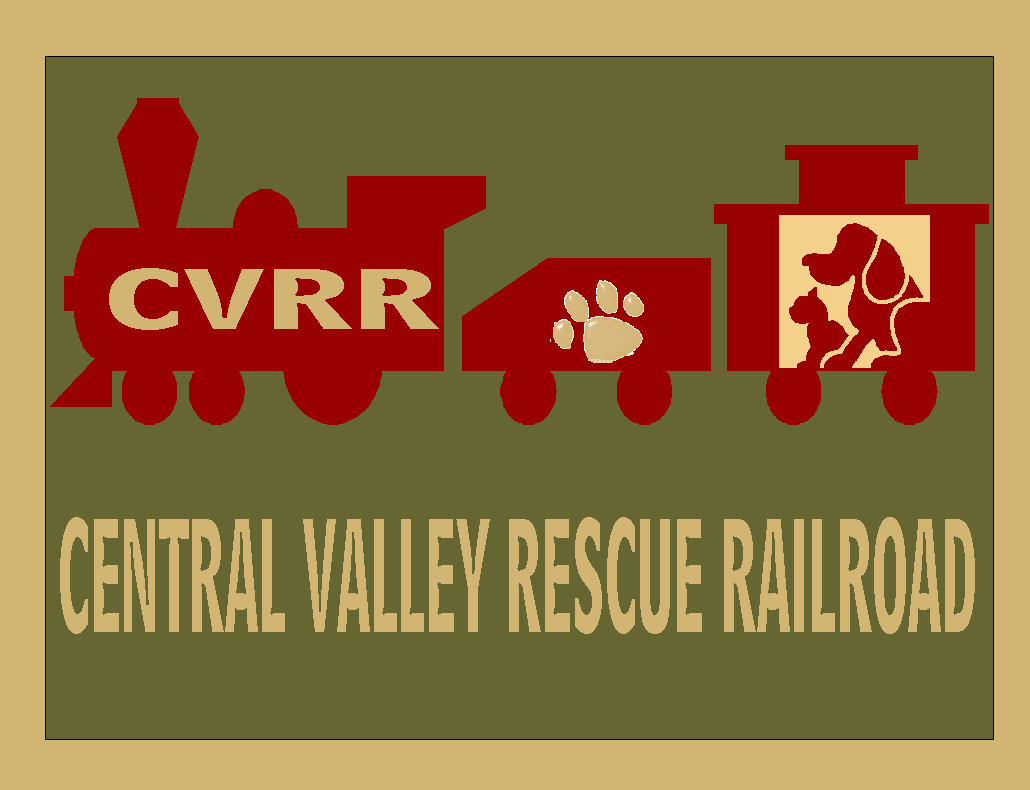 Central Valley Rescue Railroad Logo