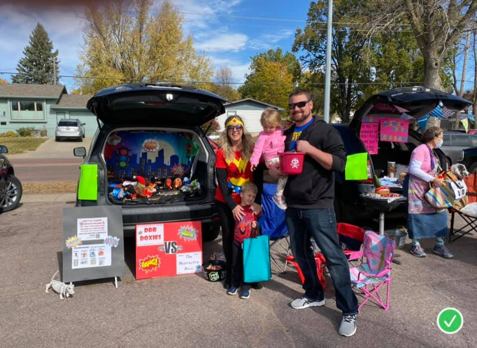 Trunk or Treat Jackie 2020