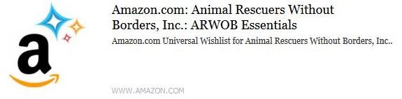 ARWOB's Amazon Wishlist