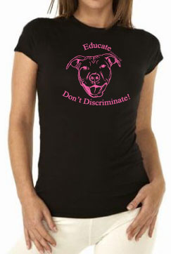 educate tshirt ladies