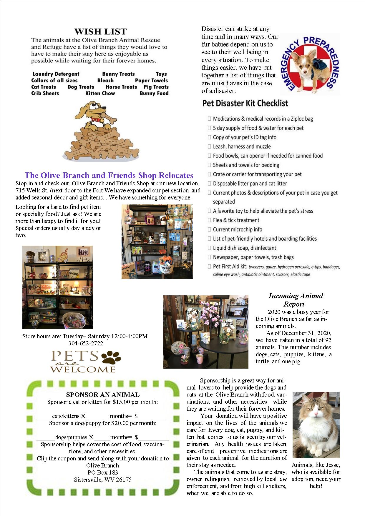 Newsletter Jan-March 2021 Page 2