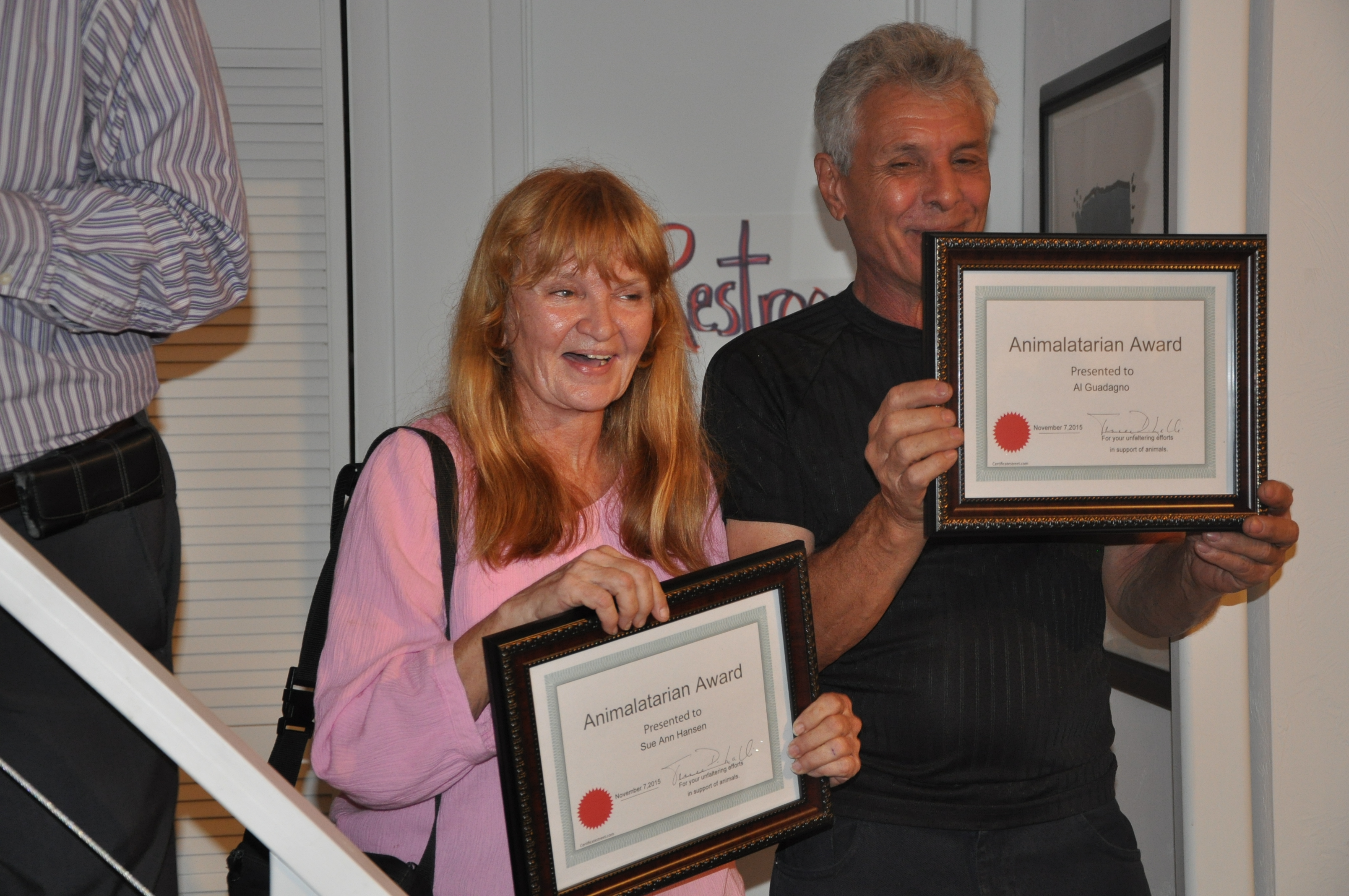 2015 animalatarian winners
