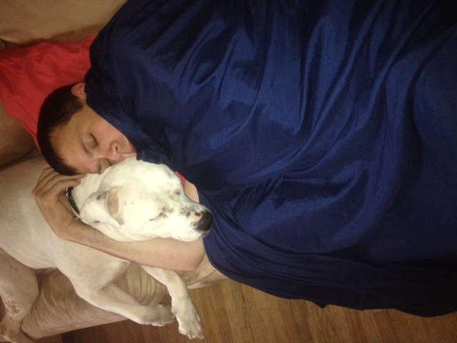 molly sleeping with man