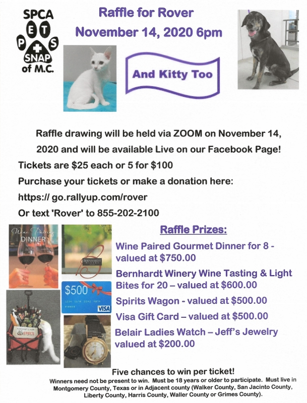 Flyer-Raffle For Rover2