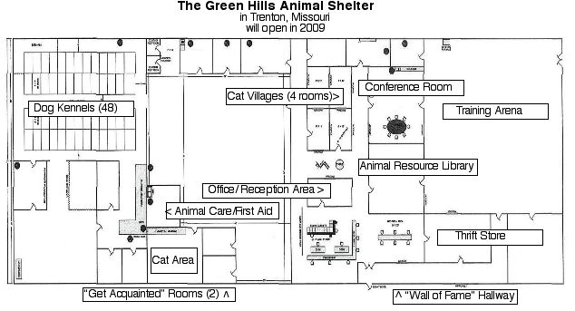 adopt an area in our shelter