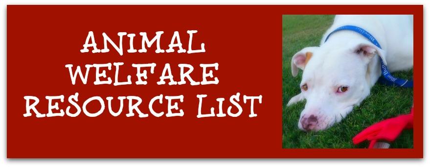 Animal Resource Page